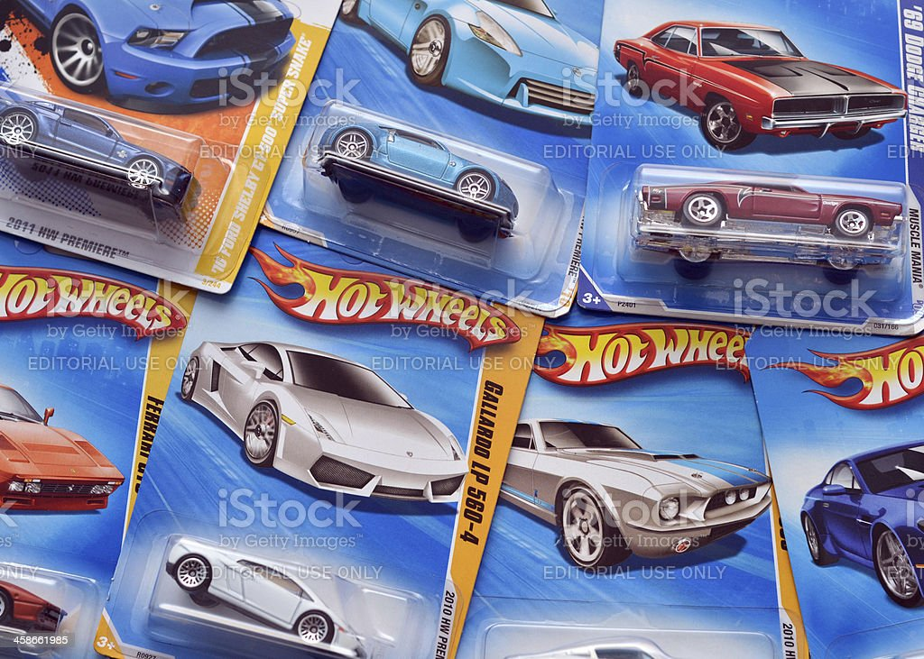 Hot Wheels stock photo