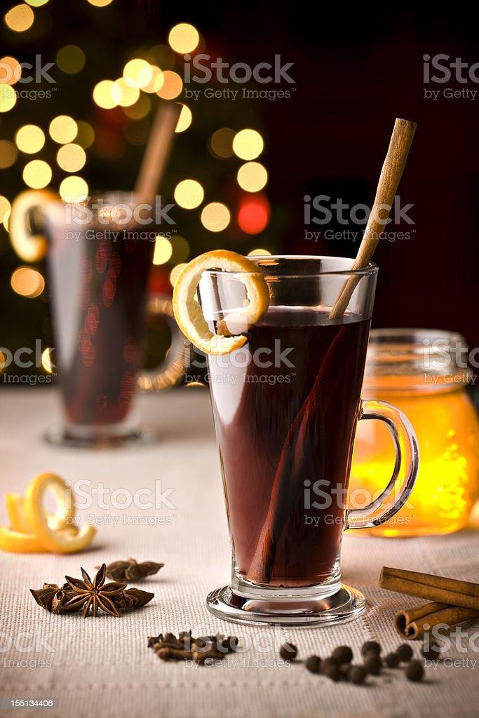 Hot wine royalty-free stock photo