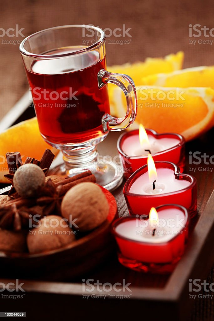 hot wine royalty-free stock photo
