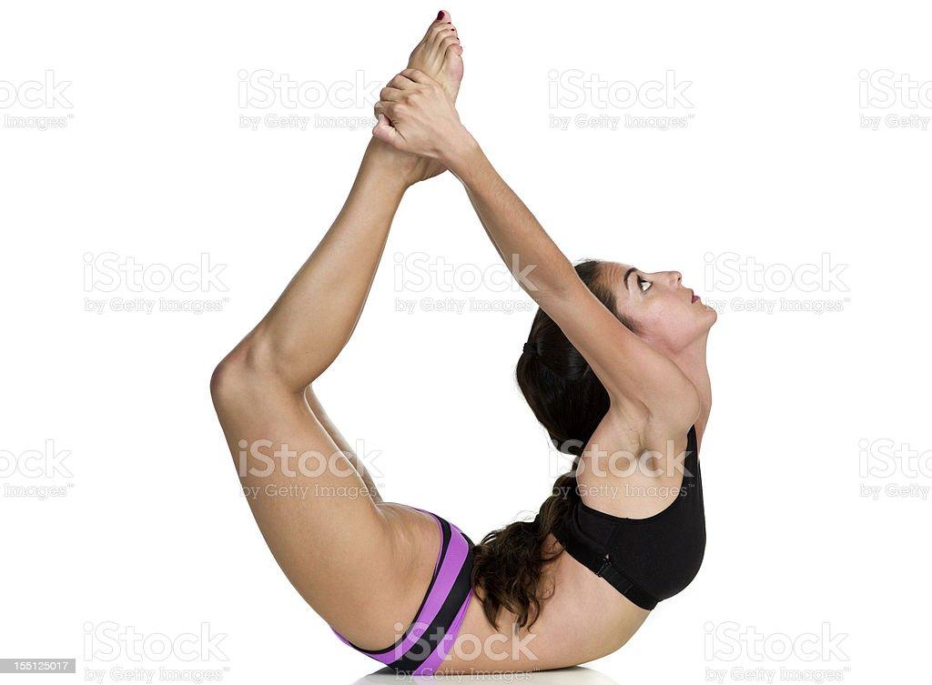 Hot Yoga Pose Stock Photo - Download Image Now - iStock