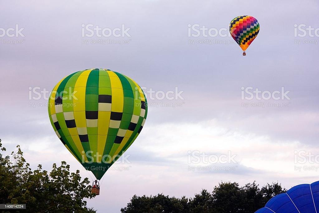 Hot-air balloons royalty-free stock photo