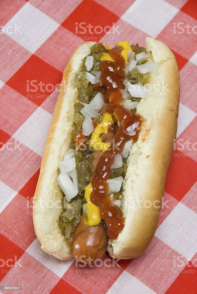 Hotdog stock photo