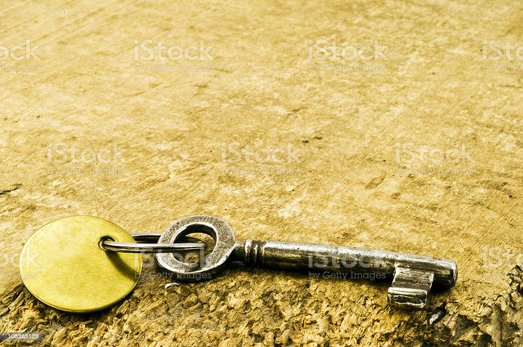 Hote Key. Color Image royalty-free stock photo
