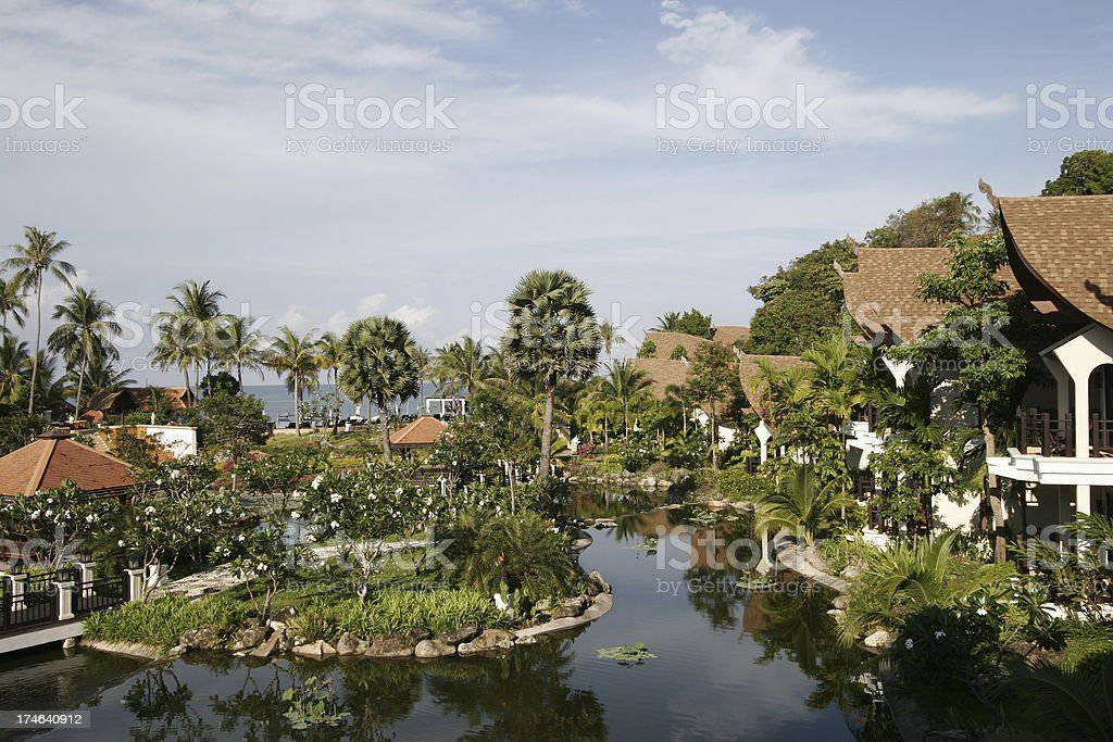 Hotel 5* Rawi Warin, Koh Lanta - Thailand royalty-free stock photo