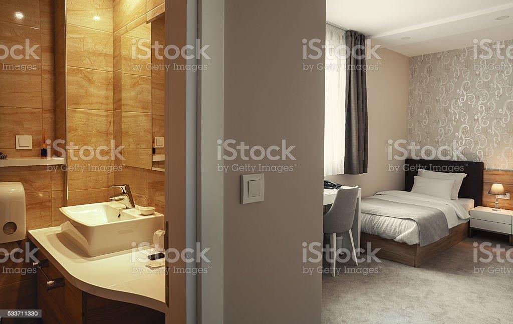 Hotel Apartment Interior stock photo