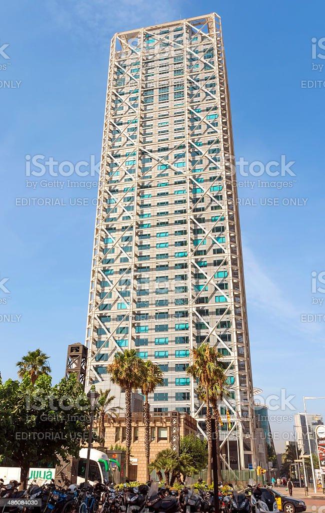 Hotel Arts stock photo