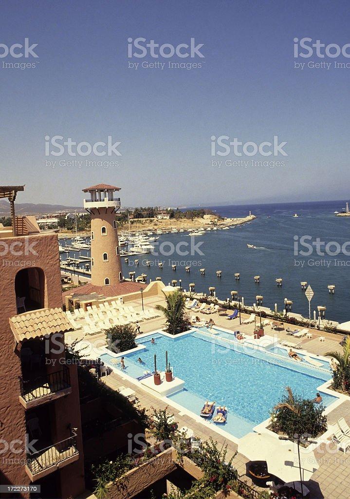 Hotel At Cabo San Lucas, Mexico royalty-free stock photo