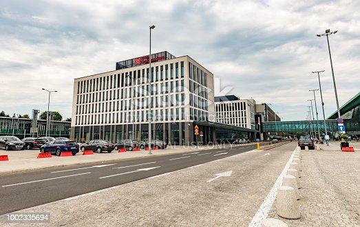 istock Hotel at Kraków John Paul II International Airport 1002335694