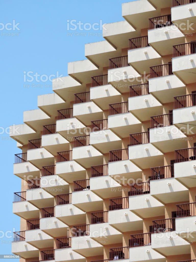 Hotel-Balkon – Foto