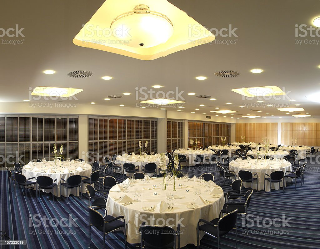 hotel ballroom stock photo