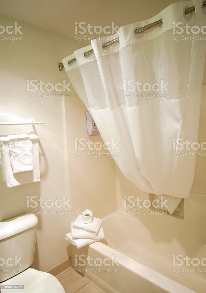 Hotel Bathroom Display & Arrangement stock photo