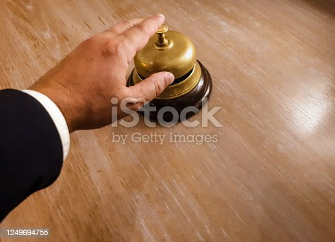 840883328 istock photo Hotel bell 1249694755
