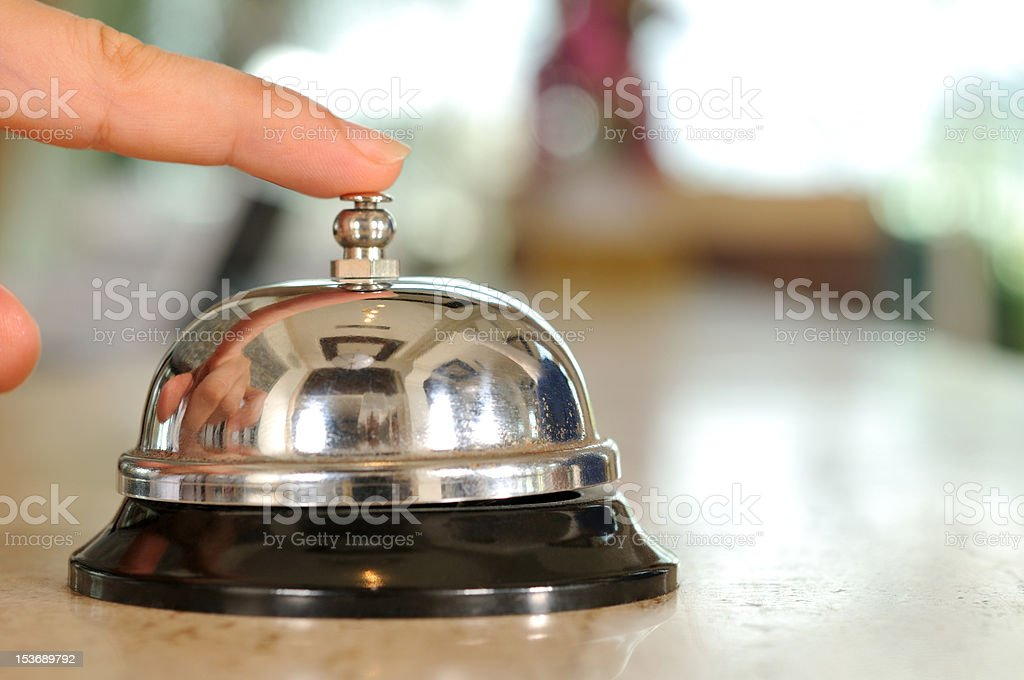 Hotel Bell royalty-free stock photo