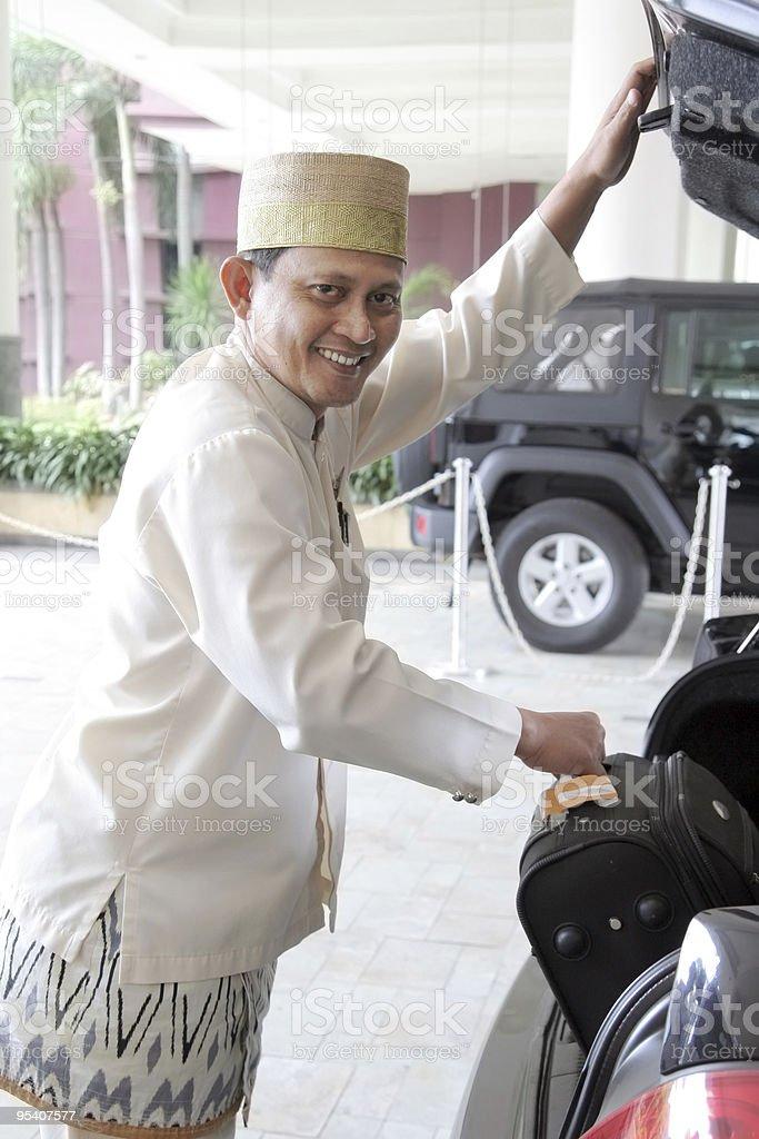 hotel-concierge Lizenzfreies stock-foto