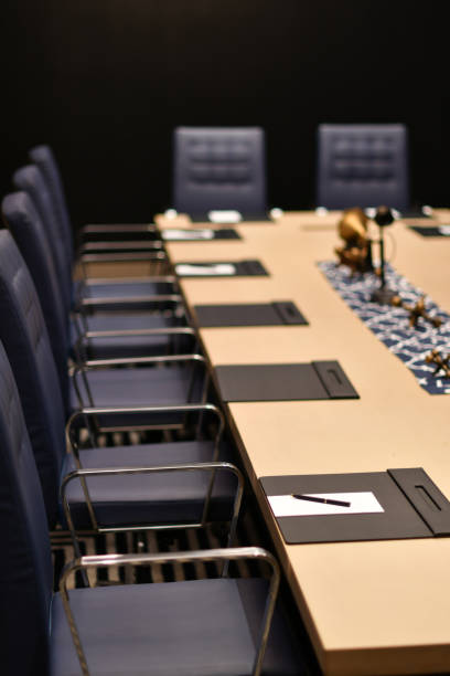 hotel conference room - steven harrie stock photos and pictures