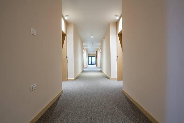 ホテルの廊下 ストックフォト