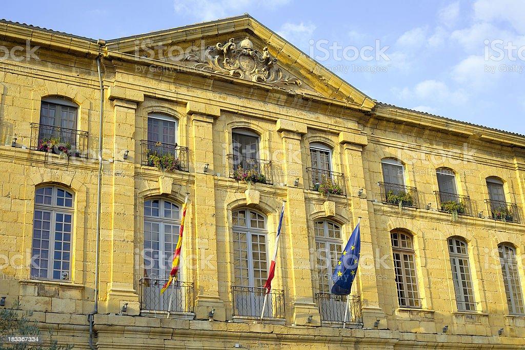 Hotel de Ville royalty-free stock photo
