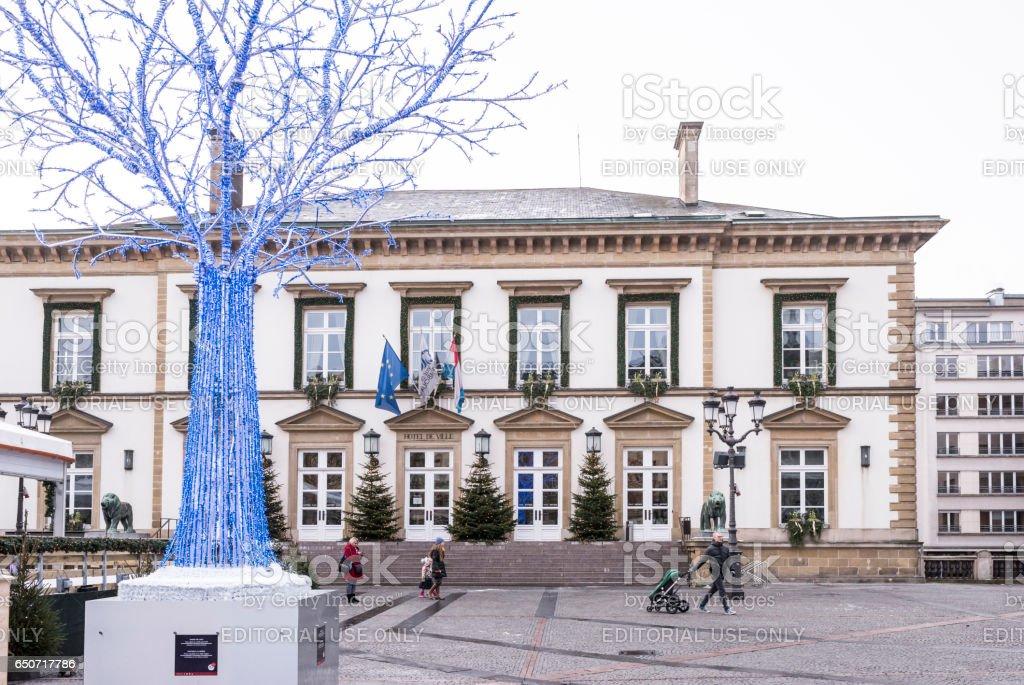 Hotel De Ville stock photo