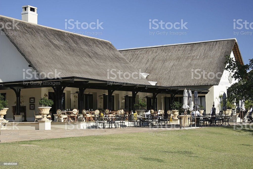 Hotel Dining royalty-free stock photo