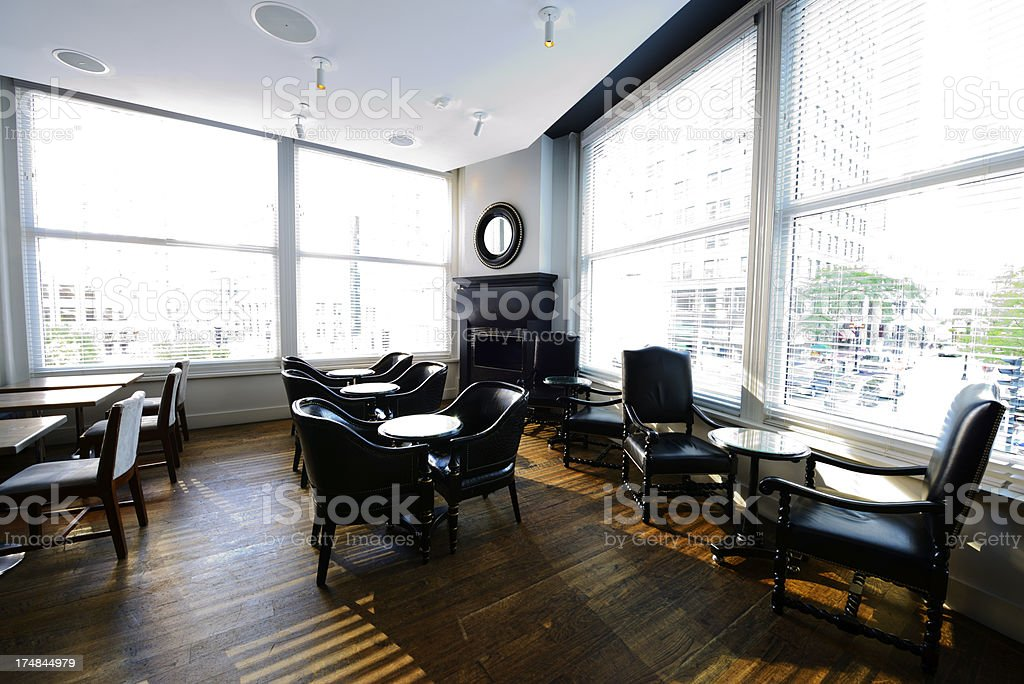 Hotel Dining Room,Boston royalty-free stock photo