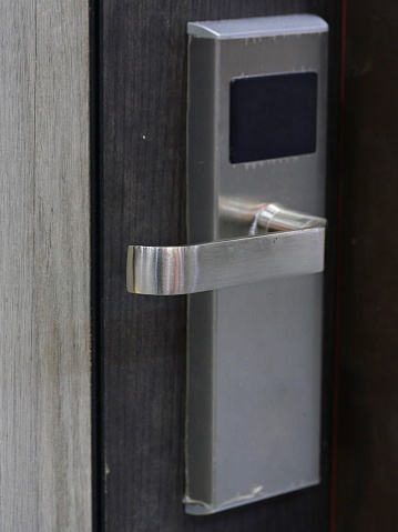 Hotel, Door, Door Chain, Hotel Room, Lock