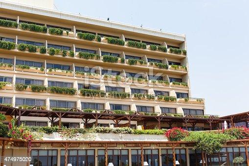 946294510 istock photo Hotel in Cyprus 474975020