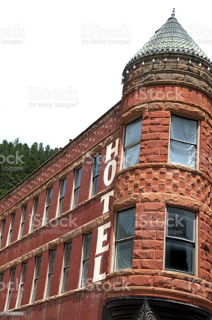 Hotel in Deadwood royalty-free stock photo