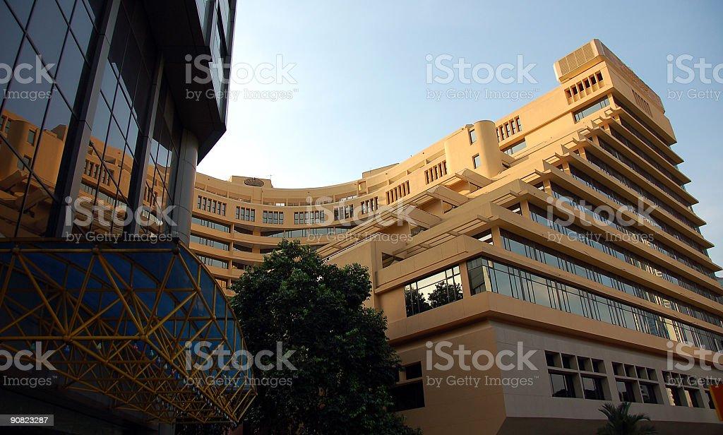 Hotel in Kuala Lumpur royalty-free stock photo