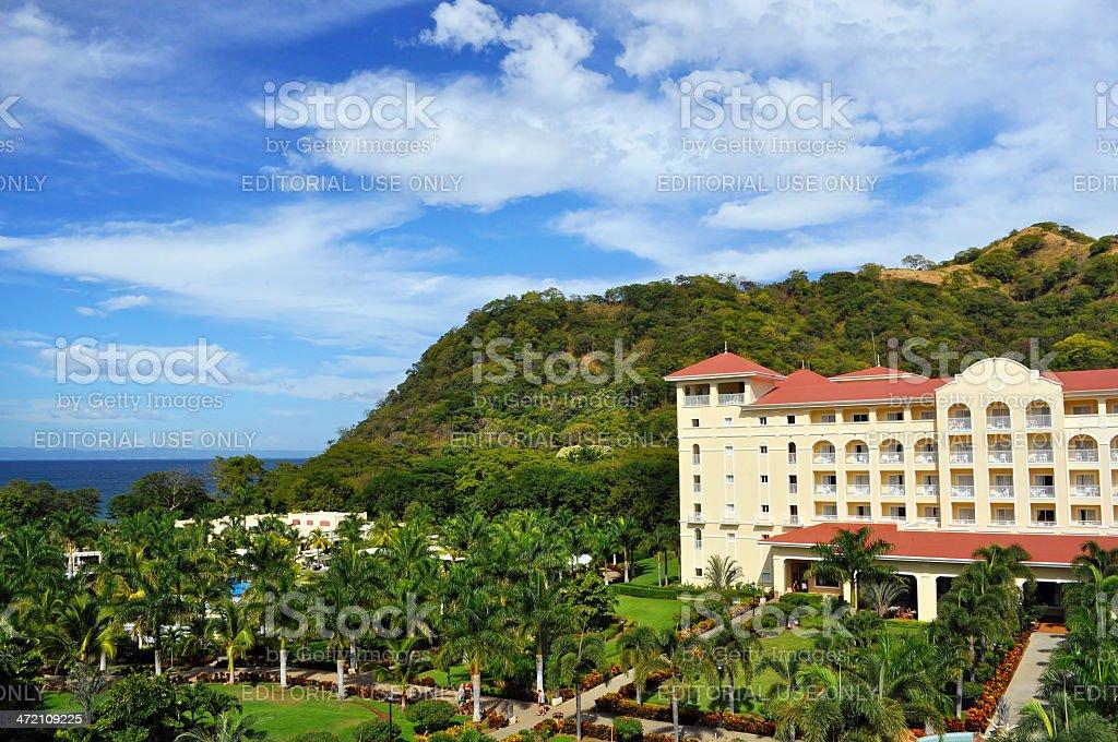 Hotel in Liberia Costa Rica stock photo