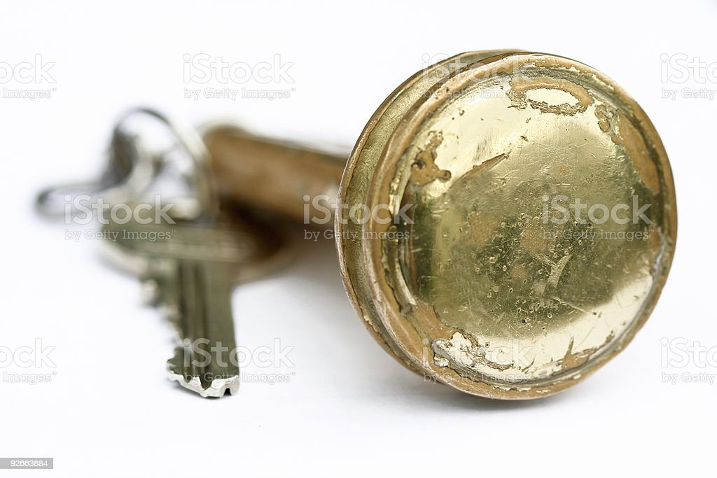 Hotel Key royalty-free stock photo