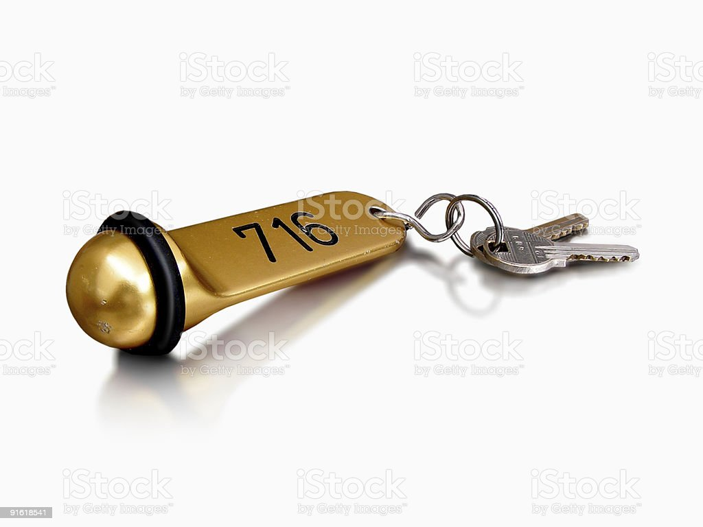 Hotel Keys royalty-free stock photo
