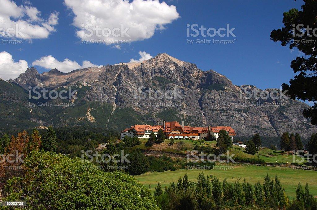 Hotel Llao Llao near Bariloche, Argentina stock photo