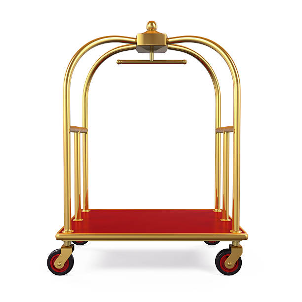 Hotel Luggage Trolley - foto de stock