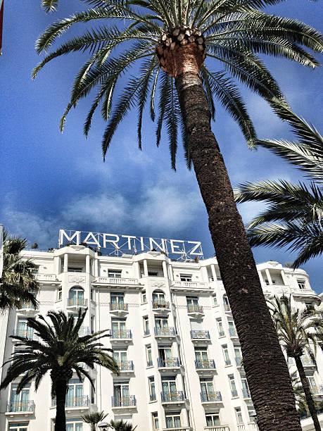 Hotel Martinez stock photo