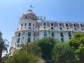 Nice, France Hotel Negresco luxury seaside coast sunshine travel summer holiday