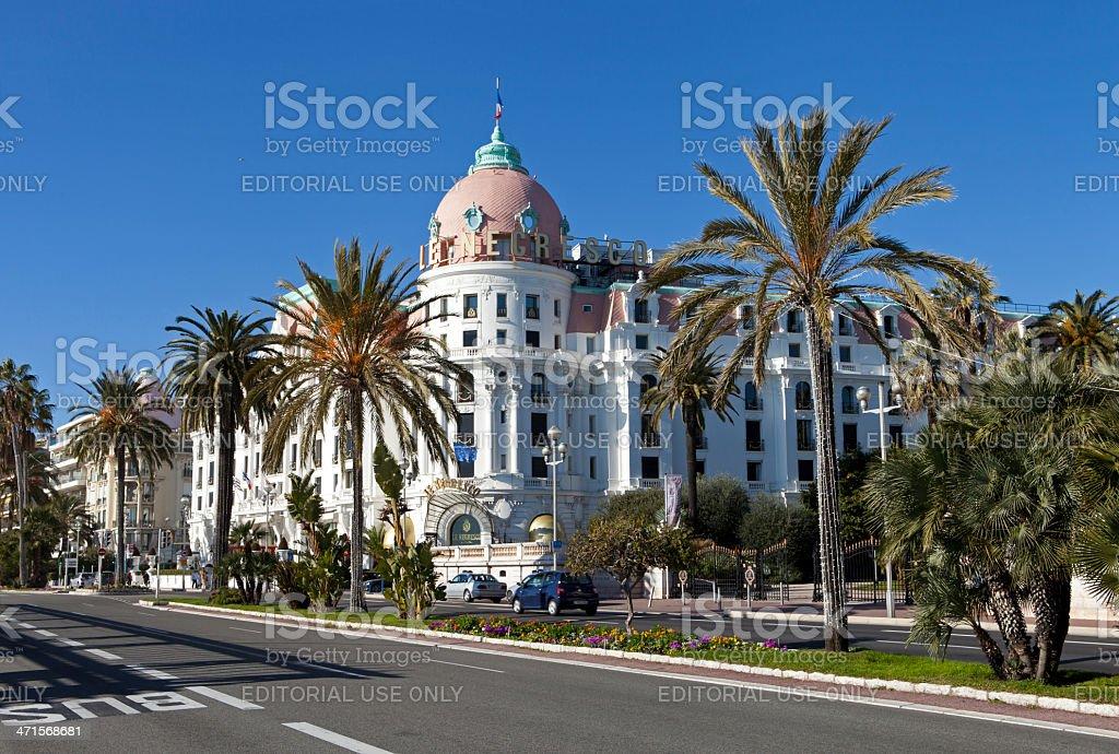 Hotel Negresco royalty-free stock photo