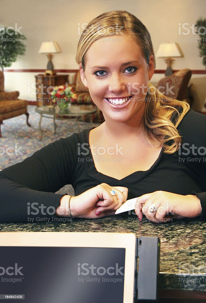 Hotel or Furniture Store Smile - Daytime stock photo