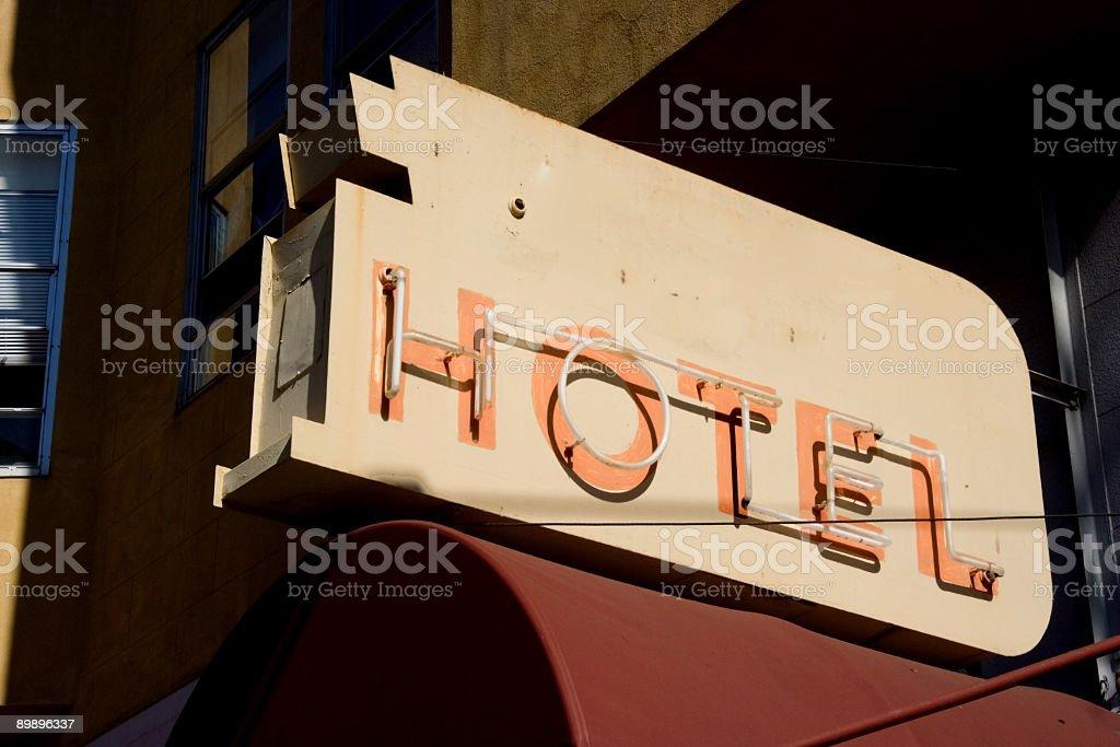 Hotel Lizenzfreies stock-foto
