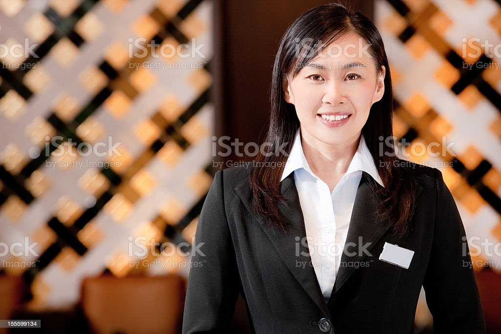 Hotel-Empfang – Foto