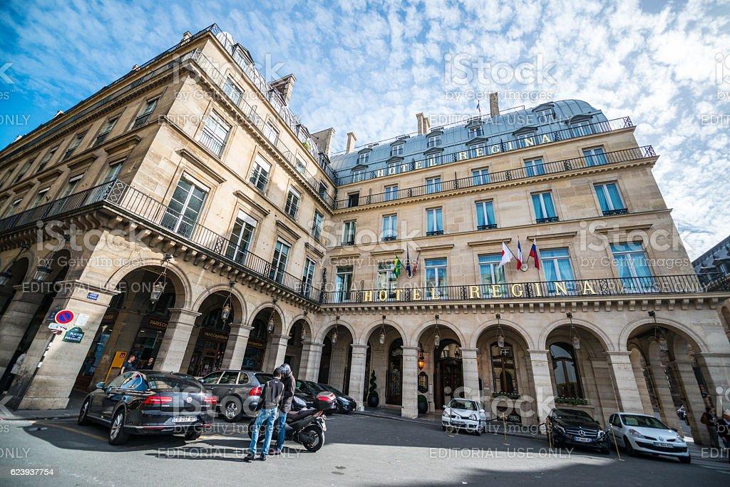 Hotel Regina Paris France Stock Photo & More Pictures of