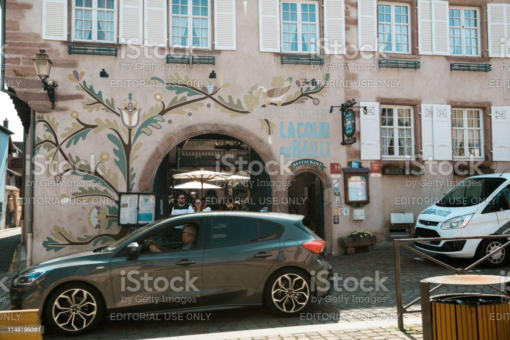 Motor Village La >> Hotel Residence La Cour Du Bailli In Bergheim Village Alasce
