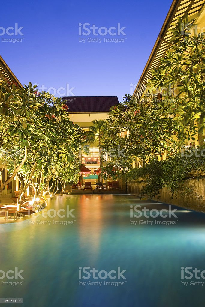Hotel resort royalty-free stock photo