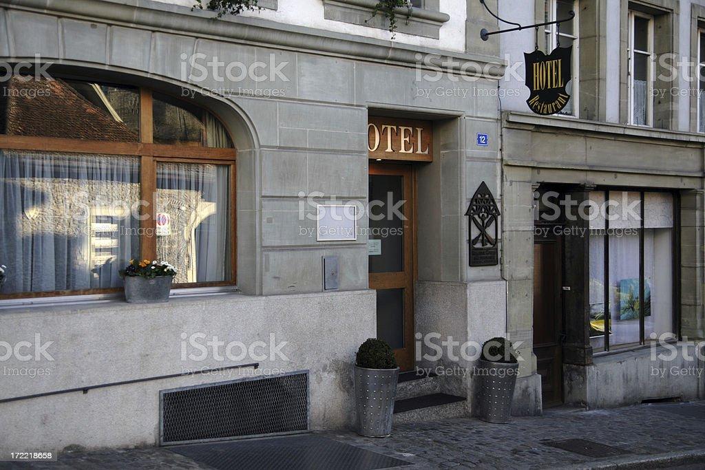 Hotel Restaurant royalty-free stock photo