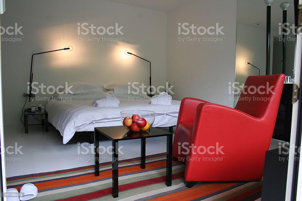 Hotel room 2 royalty-free stock photo