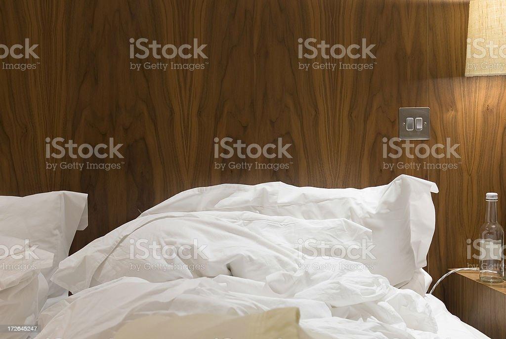 Hotelzimmer in den Tag – Foto
