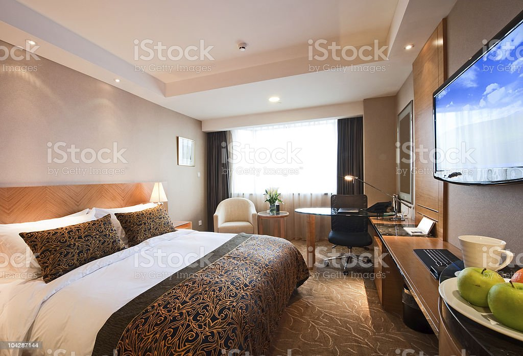 hotel room interior royalty-free stock photo