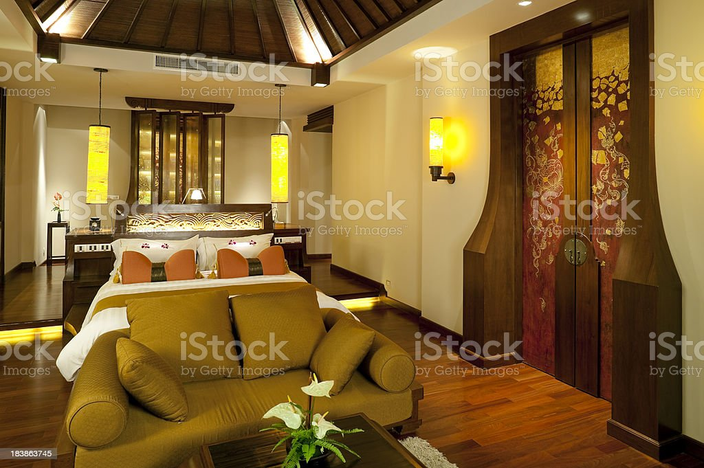 hotel room phuket thailand royalty-free stock photo
