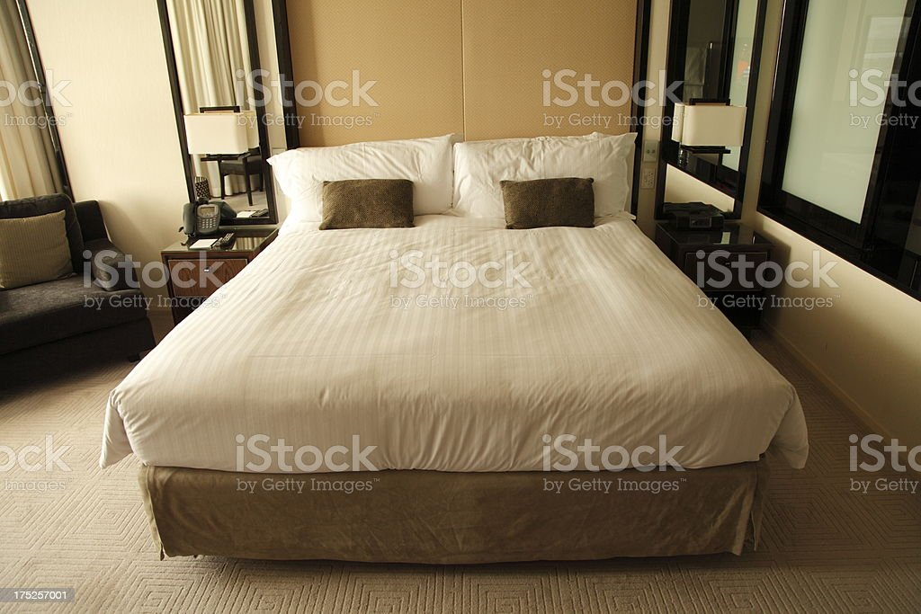 Hotel Room stock photo