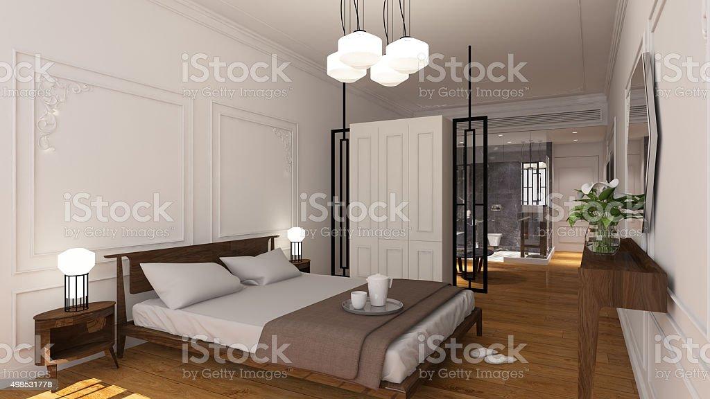 Camera dell'Hotel - foto stock