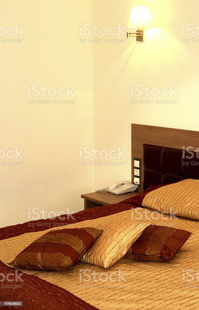 Hotel room royaltyfri bildbanksbilder